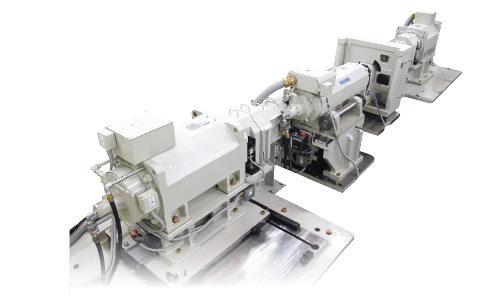 FF transmission bench